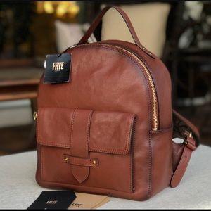 FRYE Olivia mini leather backpack